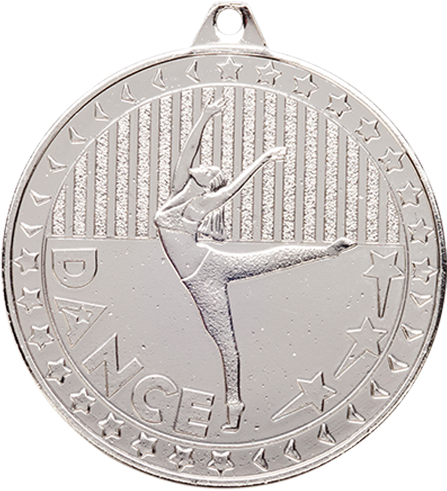 "Silver Discovery Dance Medal 50mm (2"")"