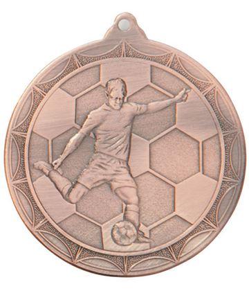"Impulse Football Medal Bronze 50mm (2"")"