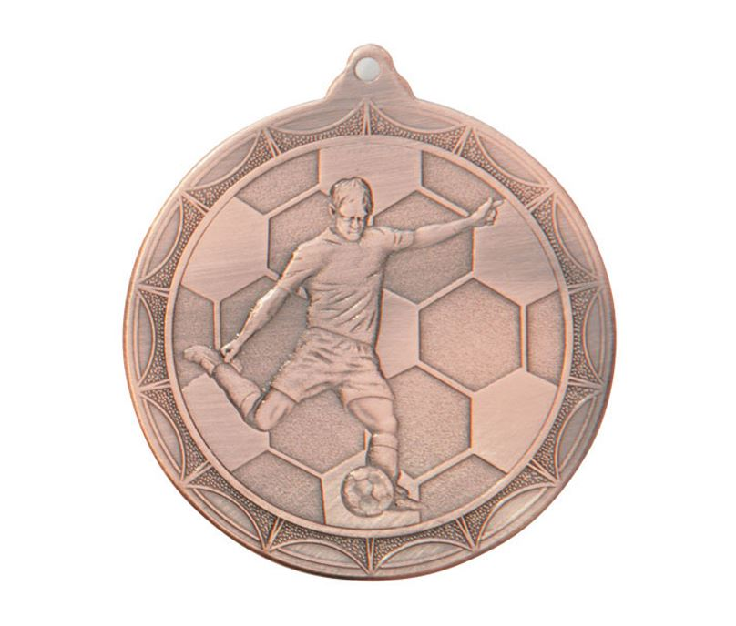 "Impulse Football Medal Bronze 50mm (2"")"