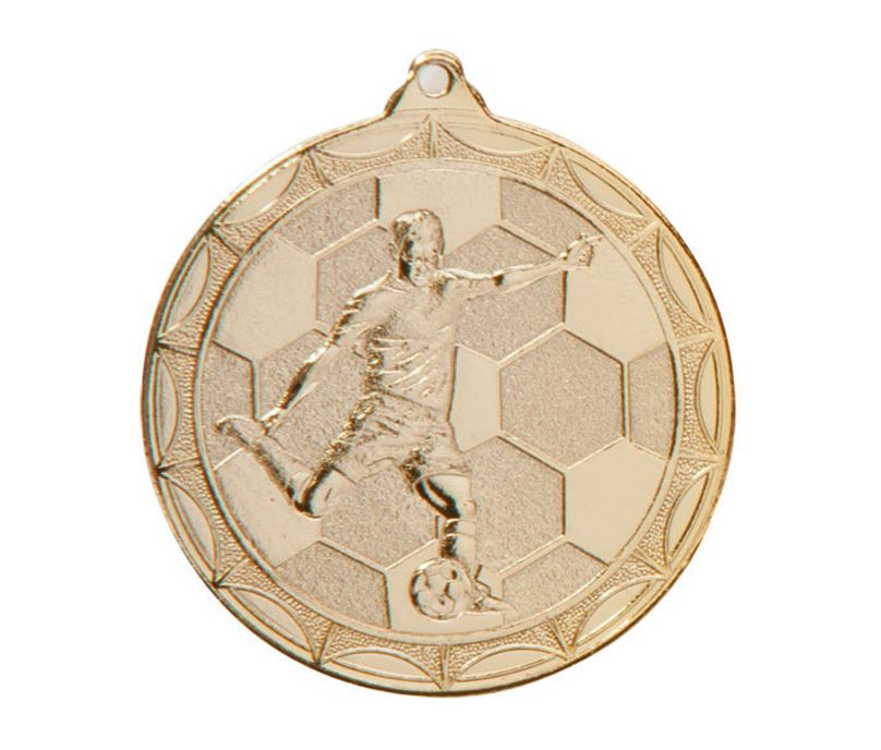 "Impulse Football Medal Gold 50mm (2"")"