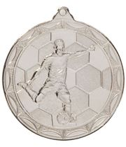 "Impulse Football Medal Silver 50mm (2"")"