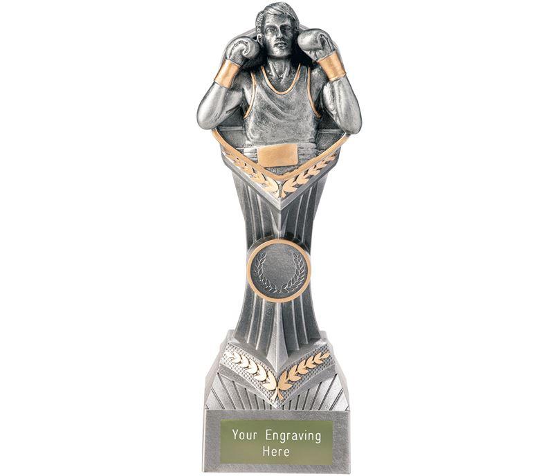 "Boxing Falcon Trophy 22cm (8.75"")"