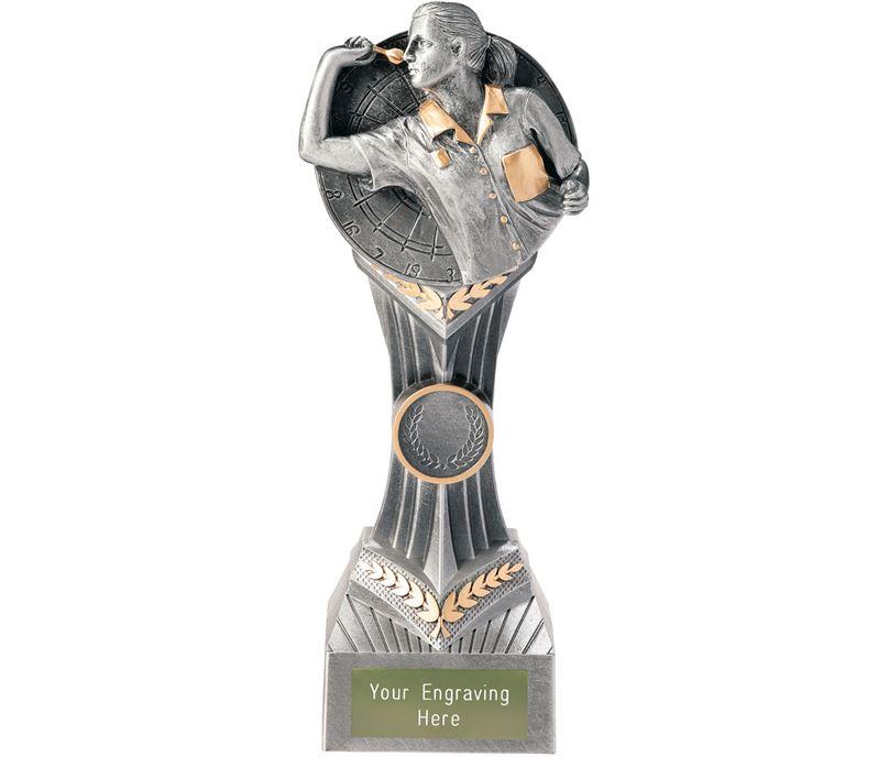 """Darts Female Falcon Trophy 22cm (8.75"""")"""