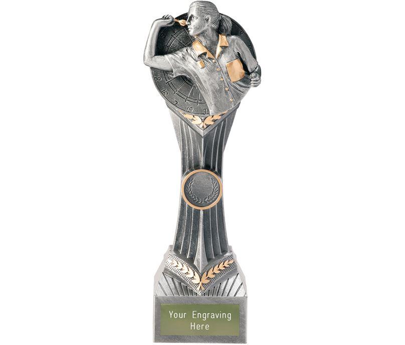 """Darts Female Falcon Trophy 24cm (9.5"""")"""