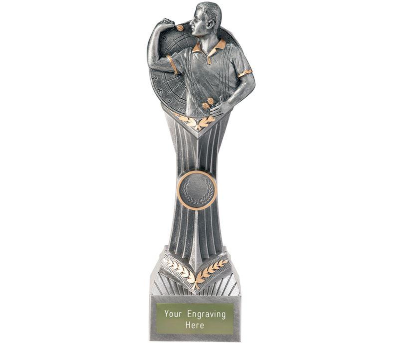 "Darts Male Falcon Trophy 24cm (9.5"")"