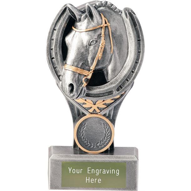 """Equestrian Falcon Trophy 15cm (6"""")"""