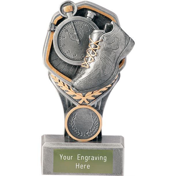 "Running Falcon Trophy 15cm (6"")"