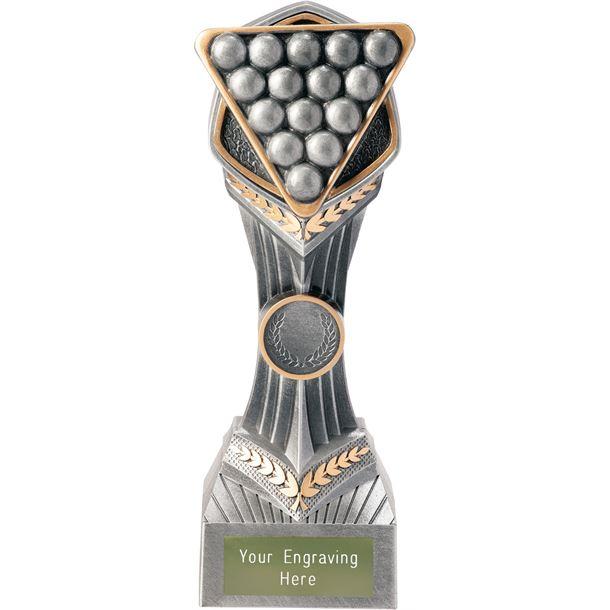 "Pool/Snooker Falcon Trophy 22cm (8.75"")"