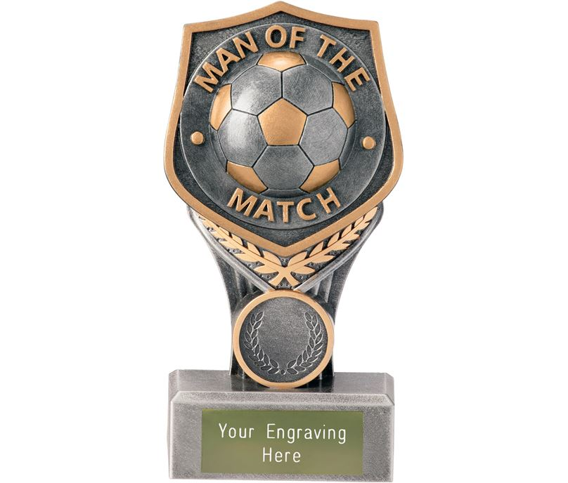 "Football Man of the Match Falcon Trophy 15cm (6"")"