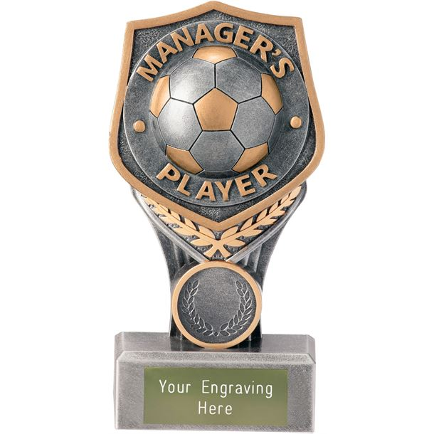 """Football Manager's Player Falcon Trophy 15cm (6"""")"""
