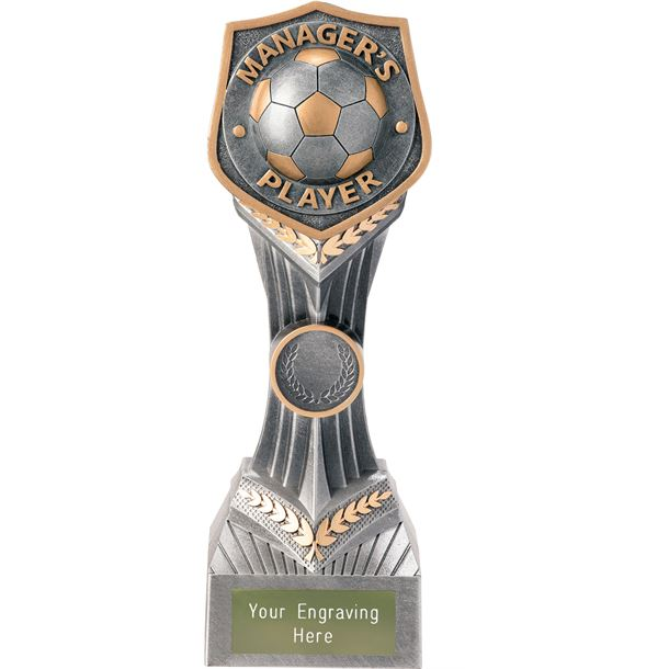 """Football Manager's Player Falcon Trophy 22cm (8.75"""")"""