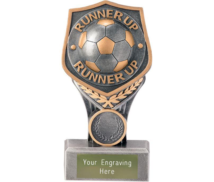 "Football Runner Up Falcon Trophy 15cm (6"")"