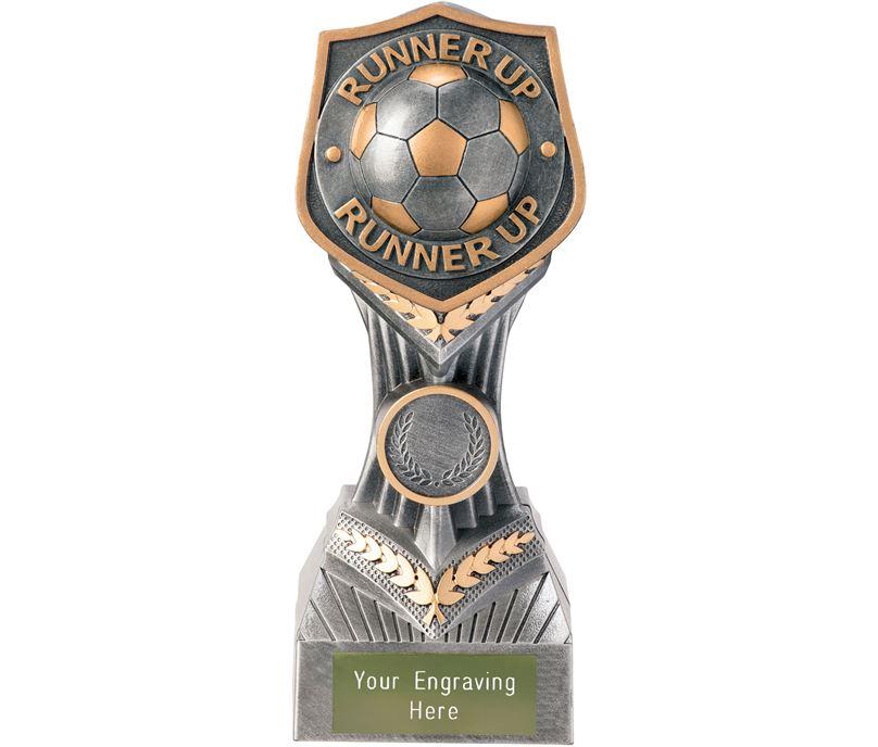 "Football Runner Up Falcon Trophy 19cm (7.5"")"