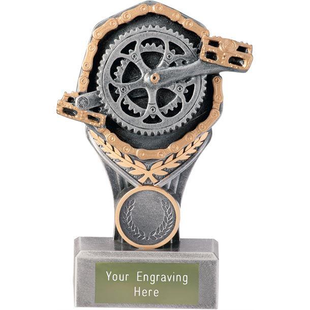 "Cycling Falcon Trophy 15cm (6"")"