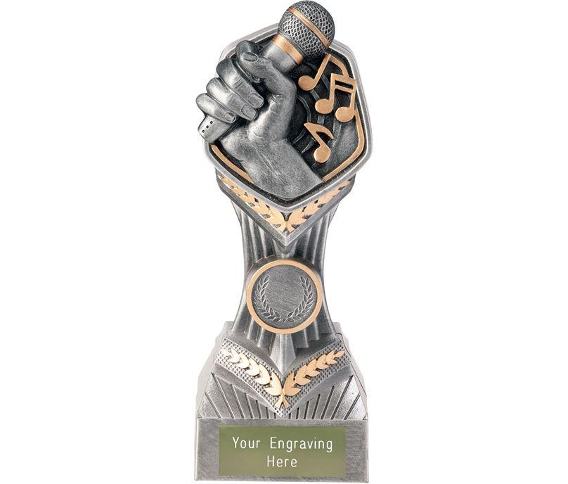 """Music Karaoke Falcon Trophy 19cm (7.5"""")"""