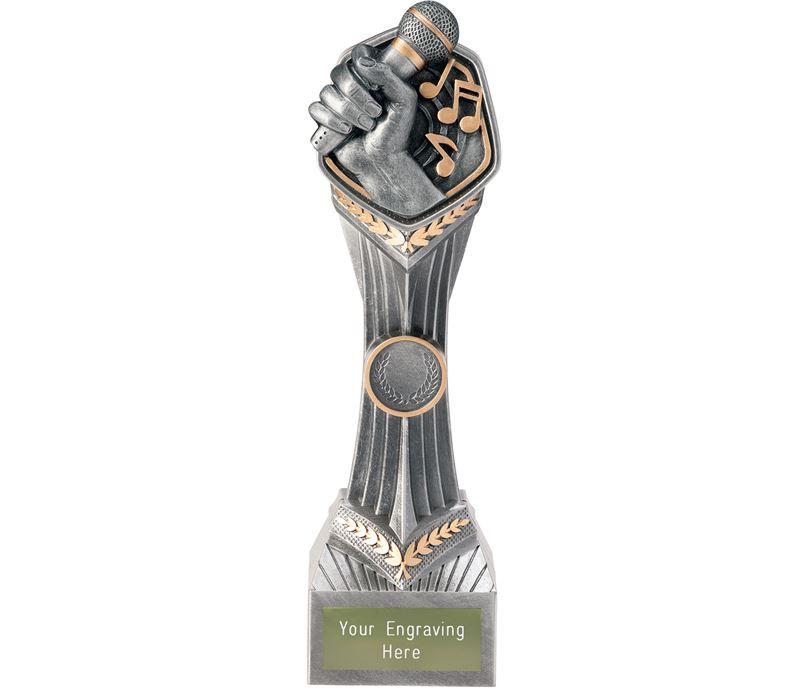 """Music Karaoke Falcon Trophy 24cm (9.5"""")"""
