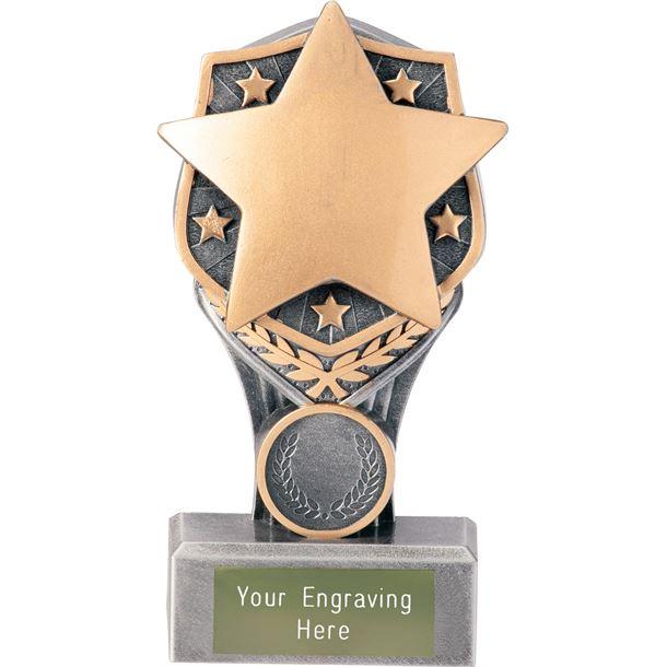 """Achievement Star Falcon Trophy 15cm (6"""")"""