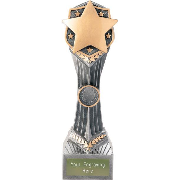 """Achievement Star Falcon Trophy 24cm (9.5"""")"""