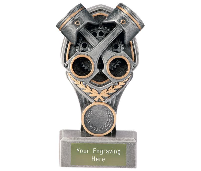 """Motorsport Crossed Pistons Falcon Trophy 15cm (6"""")"""