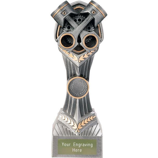 """Motorsport Crossed Pistons Falcon Trophy 22cm (8.75"""")"""