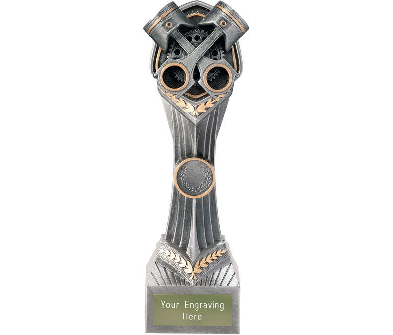 """Motorsport Crossed Pistons Falcon Trophy 24cm (9.5"""")"""