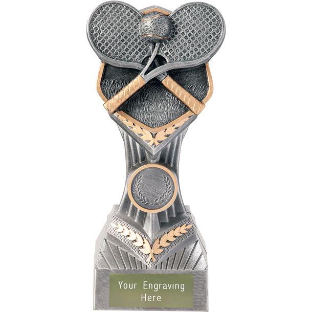"Tennis Falcon Trophy 19cm (7.5"")"