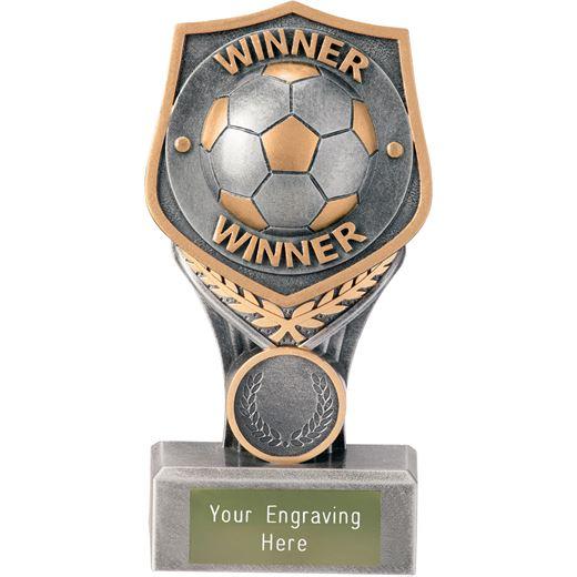 """Football Winner Falcon Trophy 15cm (6"""")"""
