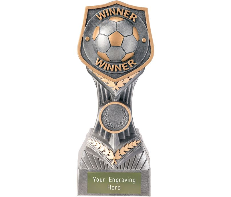 """Football Winner Falcon Trophy 19cm (7.5"""")"""