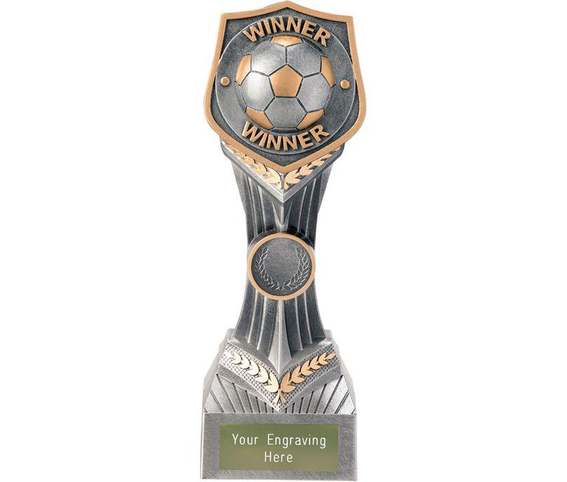 """Football Winner Falcon Trophy 22cm (8.75"""")"""