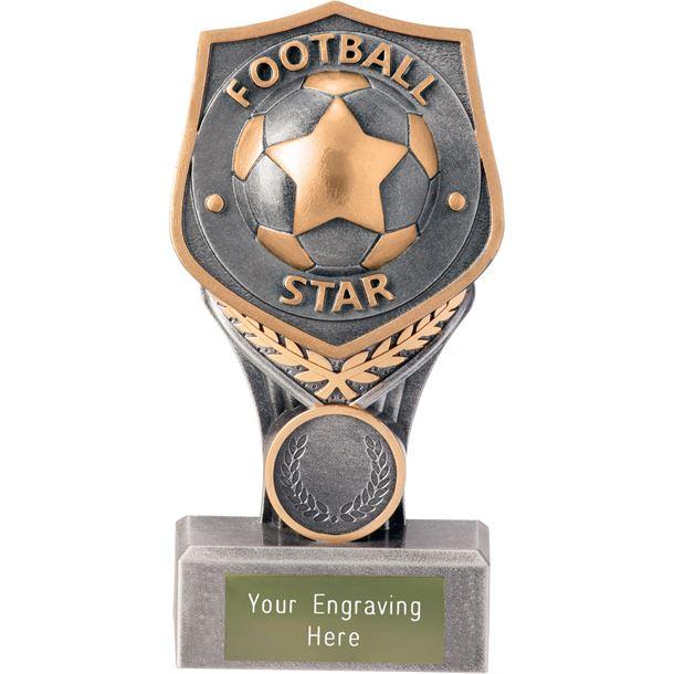 """Football Star Falcon Trophy 15cm (6"""")"""