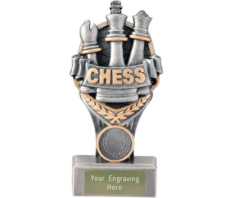 "Chess Falcon Trophy 15cm (6"")"