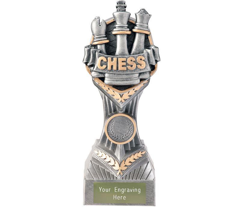 "Chess Falcon Trophy 19cm (7.5"")"