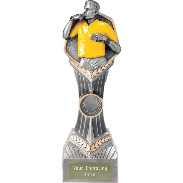 "Referee Falcon Trophy 22cm (8.75"")"