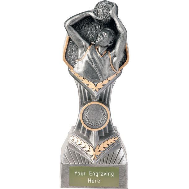 "Basketball Falcon Trophy 19cm (7.5"")"