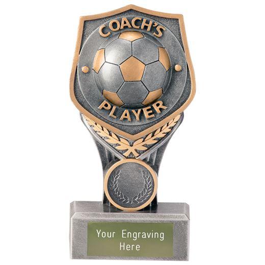 "Football Coach's Player Falcon Trophy 15cm (6"")"