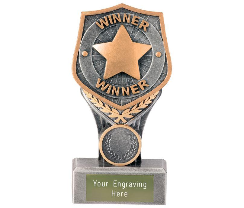 "Achievement Winner Falcon Trophy 15cm (6"")"