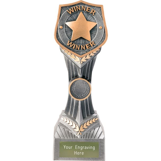 "Achievement Winner Falcon Trophy 22cm (8.75"")"