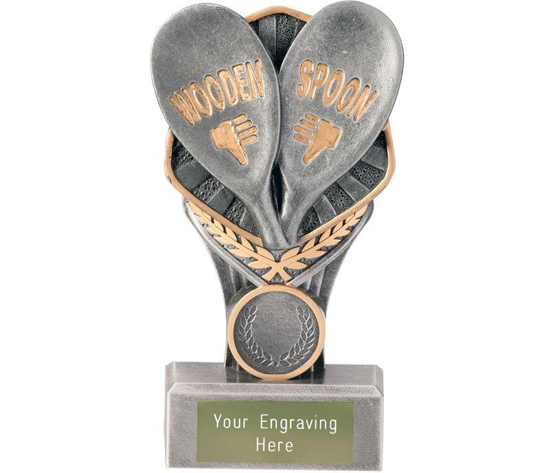 """Wooden Spoon Falcon Trophy 15cm (6"""")"""