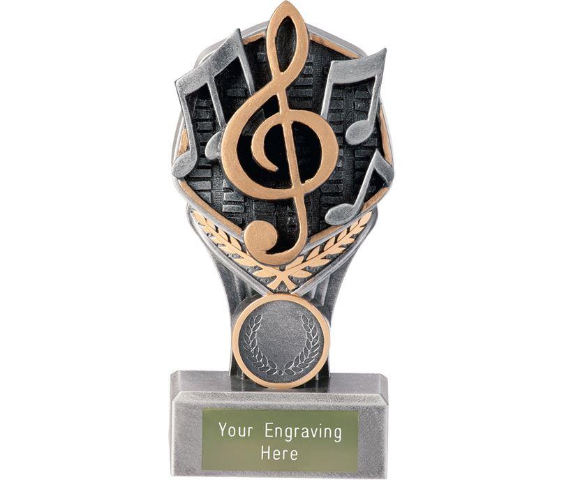 """Music Falcon Trophy 15cm (6"""")"""