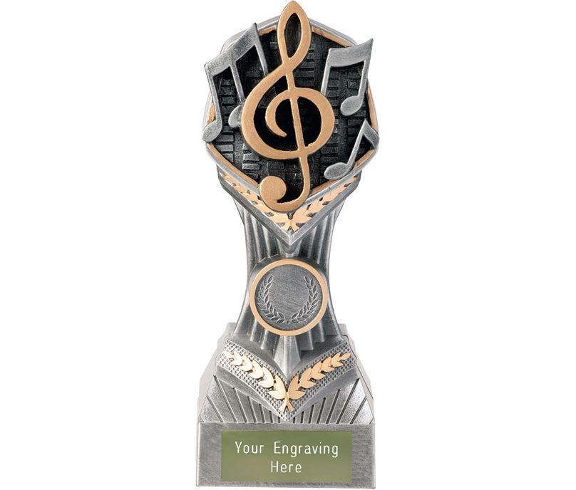 """Music Falcon Trophy 19cm (7.5"""")"""