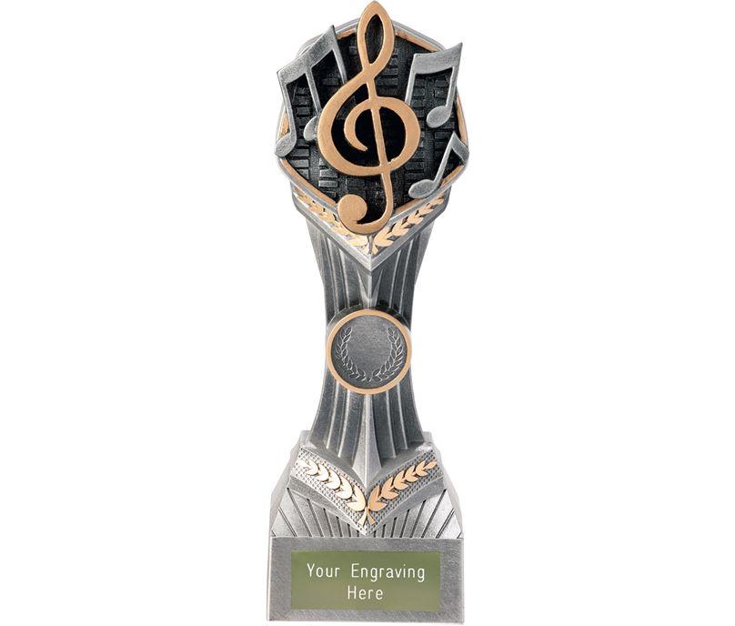 """Music Falcon Trophy 22cm (8.75"""")"""