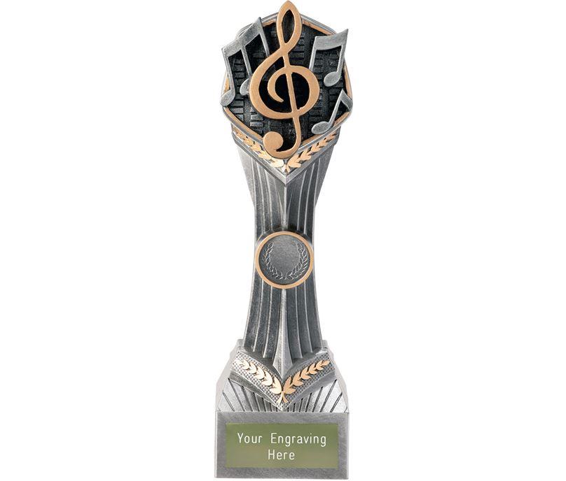 """Music Falcon Trophy 24cm (9.5"""")"""
