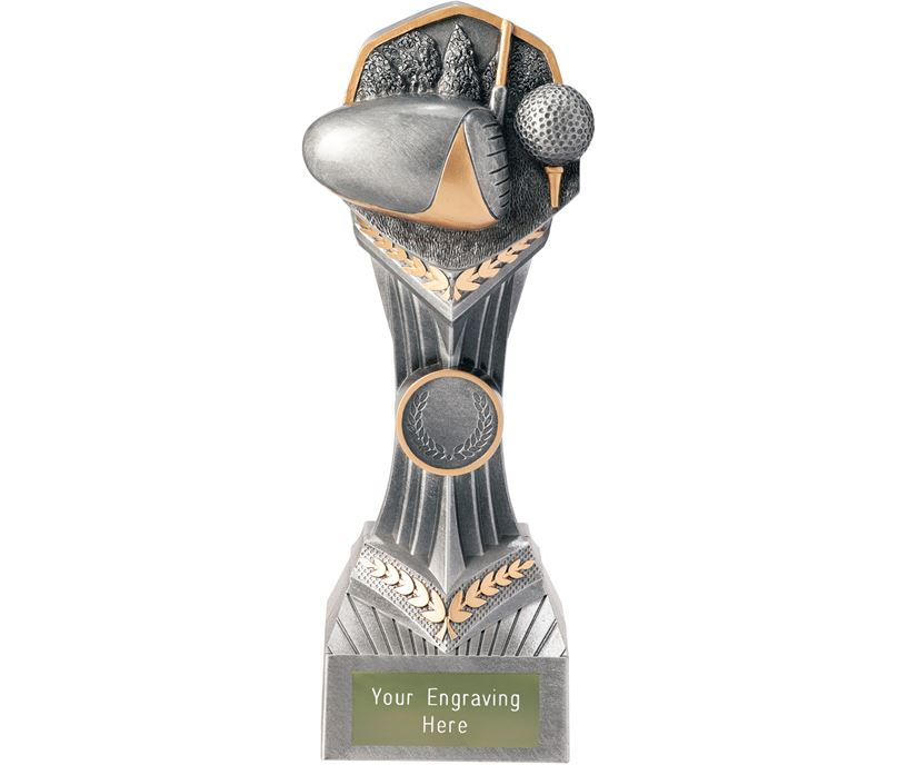 """Golf Falcon Trophy 22cm (8.75"""")"""