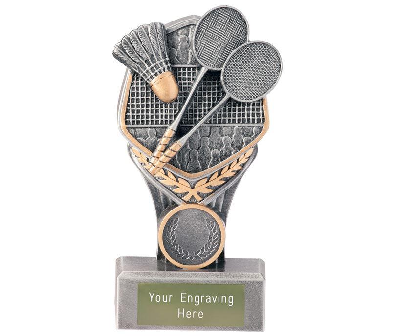 """Badminton Falcon Trophy 15cm (6"""")"""