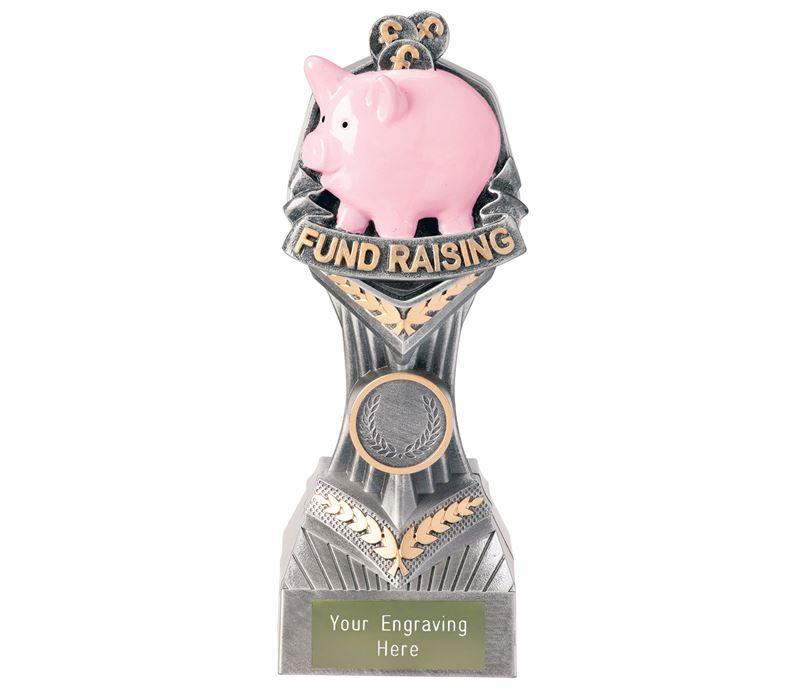 "Fundraising Falcon Trophy 19cm (7.5"")"