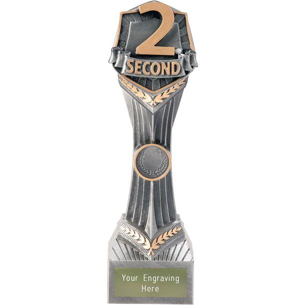 """Second Place Falcon Trophy 24cm (9.5"""")"""
