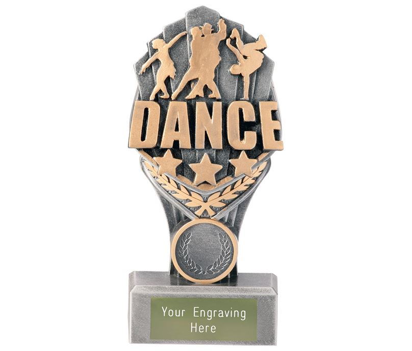 "Dance Falcon Trophy 15cm (6"")"