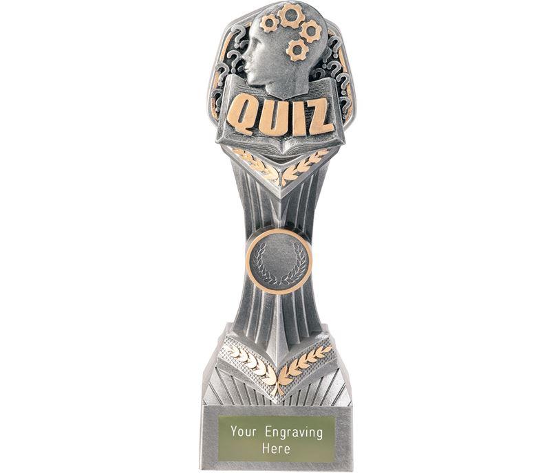 """Quiz Falcon Trophy 22cm (8.75"""")"""