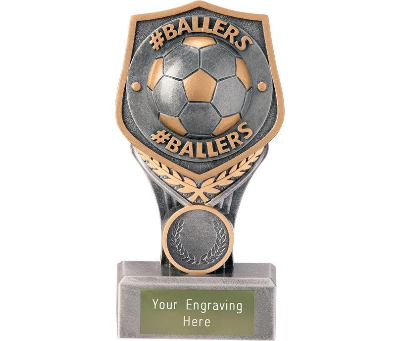 "Football #Ballers Falcon Trophy 15cm (6"")"