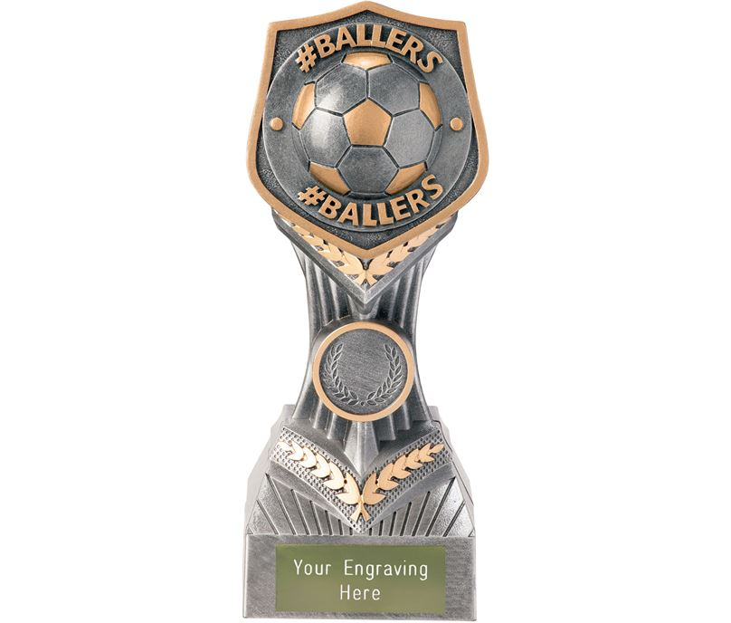 "Football #Ballers Falcon Trophy 19cm (7.5"")"